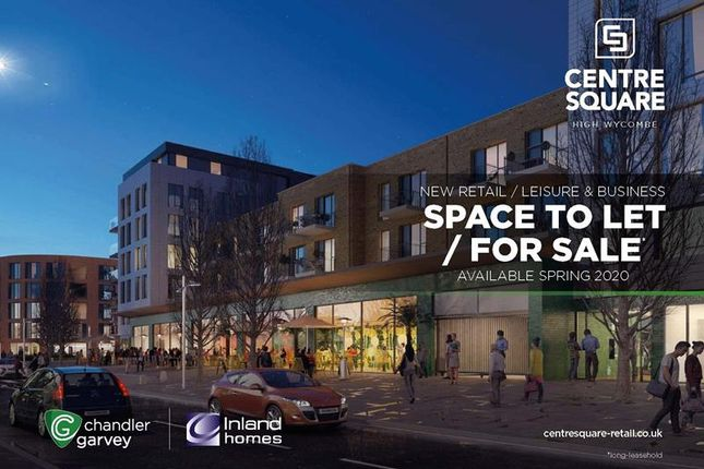 Thumbnail Retail premises for sale in Centre Square, High Wycombe, Buckinghamshire