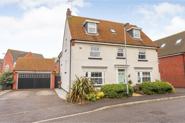 Thumbnail Detached house for sale in Marriner Crescent, Lincoln