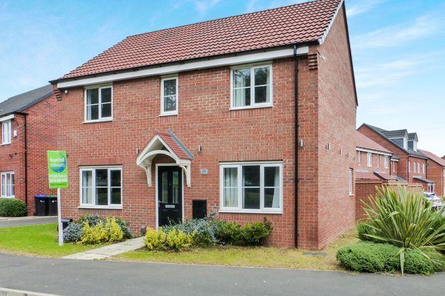 Thumbnail Detached house for sale in Lightning Grove, Hucknall, Nottingham