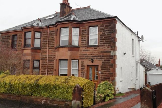 Thumbnail Semi-detached house for sale in Courthill Avenue, Glasgow