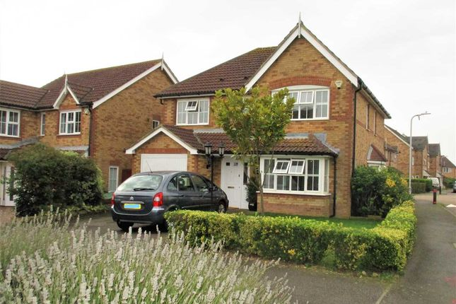 Thumbnail Detached house for sale in Pannell Drive, Hawkinge, Folkestone