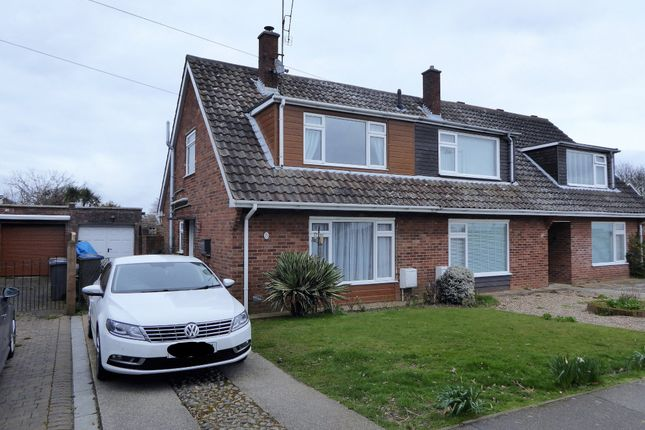 Thumbnail Semi-detached house for sale in Red House Lane, Leiston, Suffolk