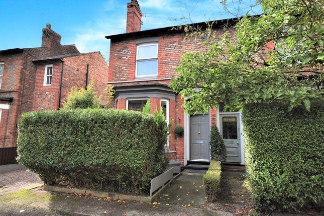 Thumbnail Terraced house for sale in Oak Road, Hale, Altrincham