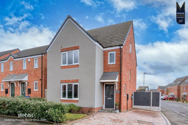 4 bed detached house for sale in Winding House Drive, Hednesford, Cannock WS12