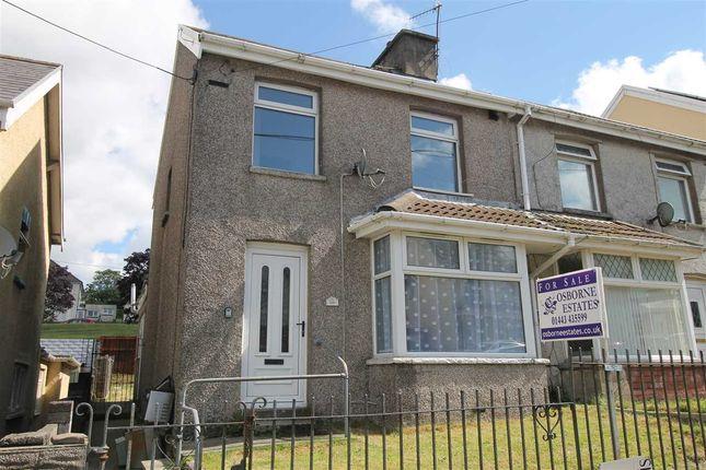Thumbnail Semi-detached house for sale in Oak Street, Gilfach Goch, Porth