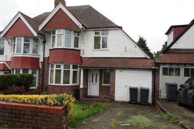 Thumbnail Semi-detached house to rent in Perry Barr Locks, Walsall Road, Great Barr, Birmingham