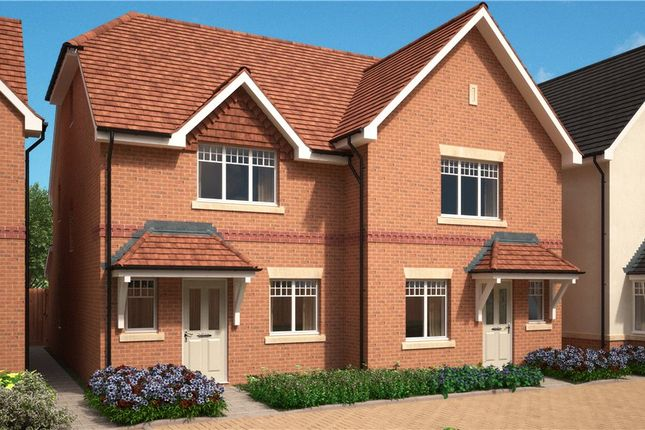 Thumbnail Semi-detached house for sale in Stockwood Way, Farnham, Surrey