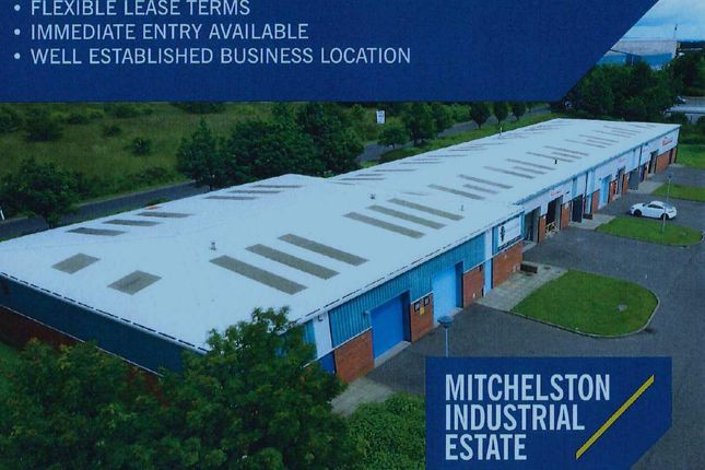 Thumbnail Light industrial to let in Industrial/Business Units, Midfield Road, Kirkcaldy
