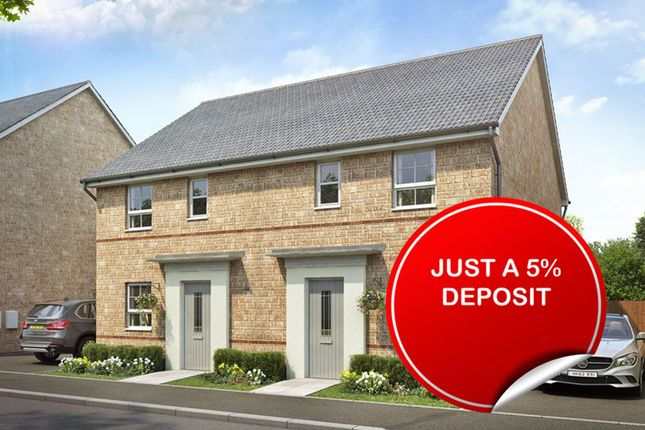 """Thumbnail End terrace house for sale in """"Folkestone"""" at Ponds Court Business, Genesis Way, Consett"""