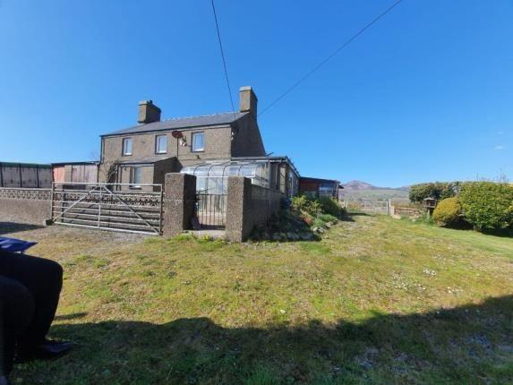 Thumbnail Detached house for sale in Llithfaen, Pwllheli, Gwynedd, .
