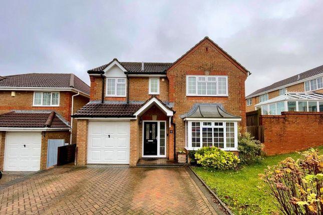 Thumbnail Detached house for sale in Meadowridge, Hatch Warren, Basingstoke