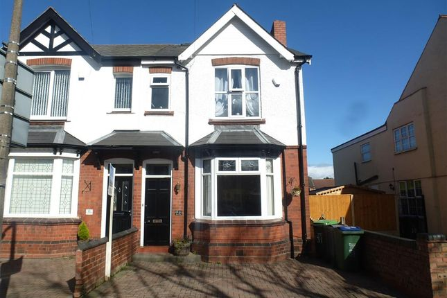 Semi-detached house for sale in Rooth Street, Wednesbury