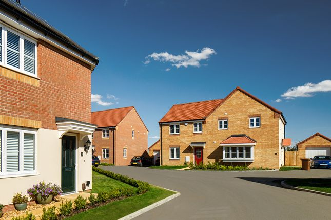 Thumbnail 3 bed detached house for sale in Eastrea Road, Whittlesey, Peterborough