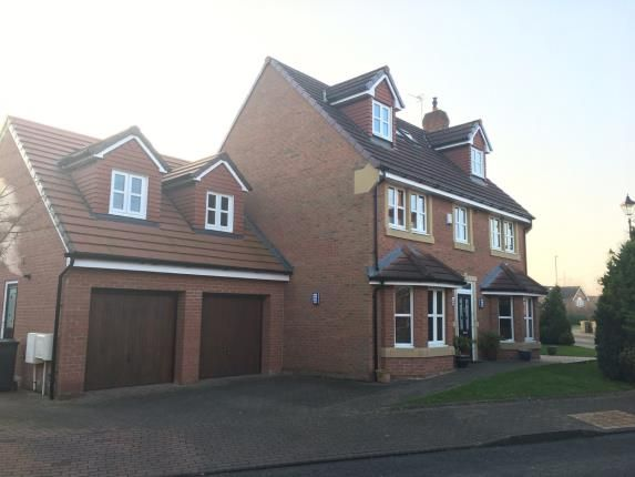Thumbnail Detached house for sale in Holford Moss, Sandymoor, Cheshire
