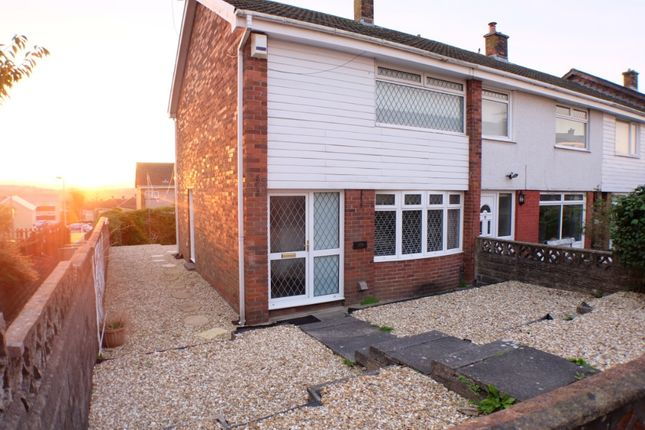 Thumbnail Semi-detached house to rent in Hollett Road, Treboeth, Swansea