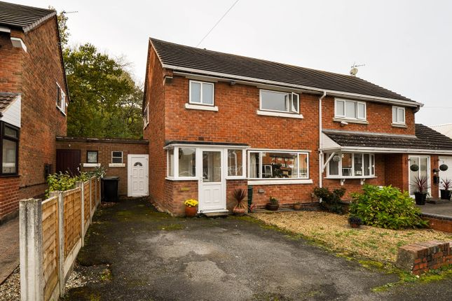 Thumbnail Semi-detached house for sale in Foxlydiate Crescent, Redditch