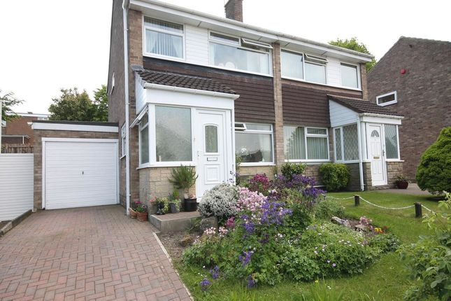 Thumbnail Semi-detached house for sale in Briardene, Burnopfield, Newcastle Upon Tyne