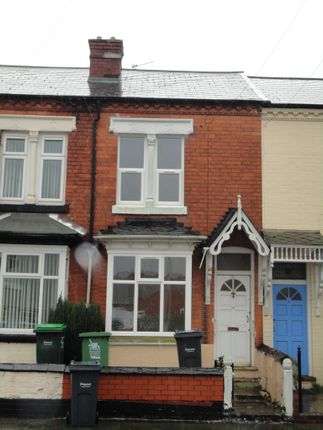 Thumbnail Terraced house to rent in Wigorn Road, Bearwood, Smethwick
