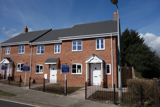 Thumbnail End terrace house for sale in Walker Gardens, Wrentham, Beccles