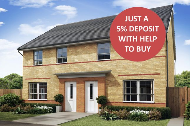 """Thumbnail Semi-detached house for sale in """"Maidstone"""" at Mount Street, Barrowby Road, Grantham"""