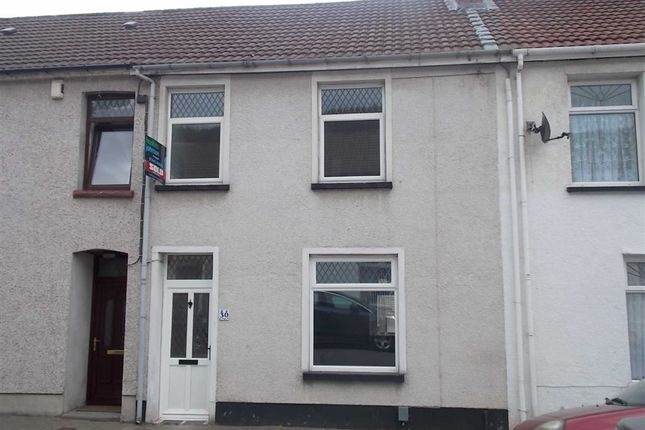 Thumbnail Terraced house to rent in Landraw Road, Pontypridd