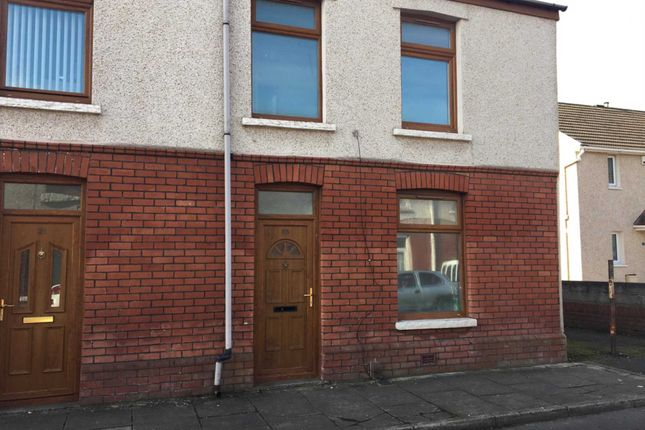 Thumbnail End terrace house to rent in Vivian Terrace, Port Talbot