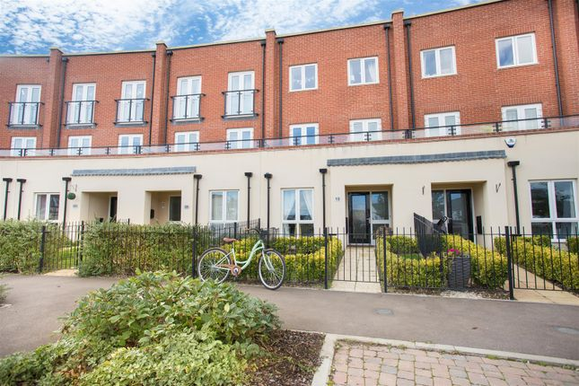 Thumbnail Town house for sale in Nicholas Charles Crescent, Aylesbury