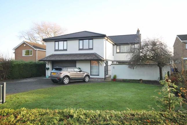 Thumbnail Detached house for sale in Willow Place, Ponteland, Newcastle Upon Tyne