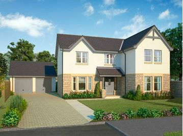 Thumbnail Detached house for sale in The Morton, Calder Street, Coatbridge, North Lanarkshire