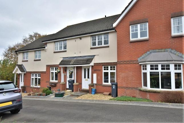 2 bed terraced house for sale in Whitmore Way, Honiton, Devon EX14