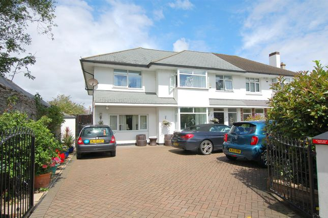 Thumbnail Semi-detached house for sale in Crow Park, Fernleigh Road, Mannamead, Plymouth
