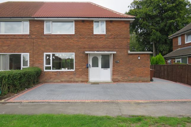 Thumbnail Semi-detached house for sale in Sandringham Drive, Moortown, Leeds