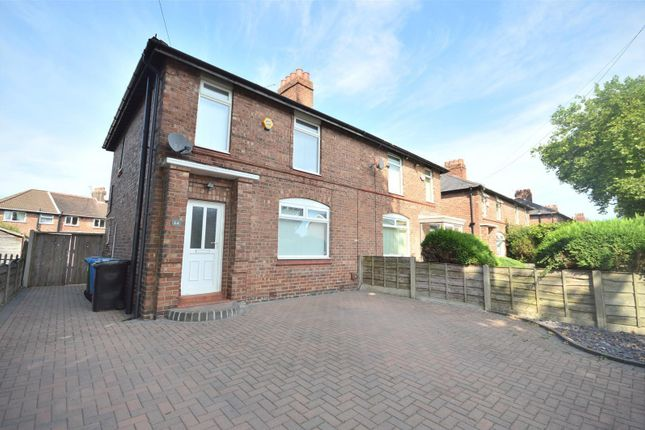 Thumbnail Semi-detached house to rent in Hulme Road, Sale