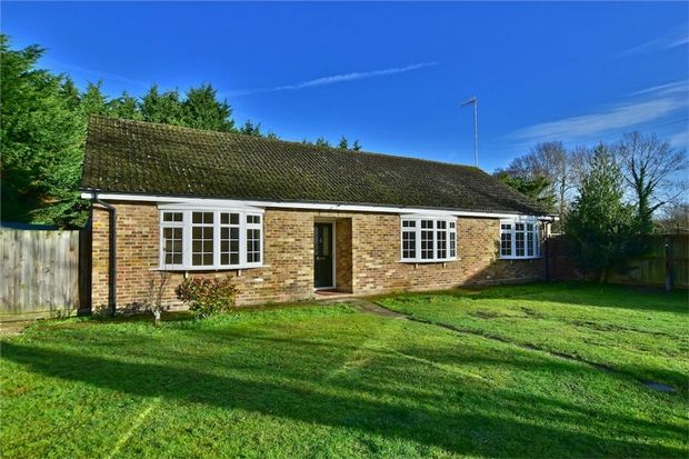 Thumbnail Detached bungalow for sale in 93 Thorney Mill Road, Iver, Buckinghamshire