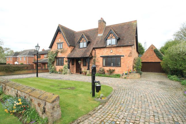 Thumbnail Detached house for sale in Hinckley Road, Burton Hastings, Nuneaton