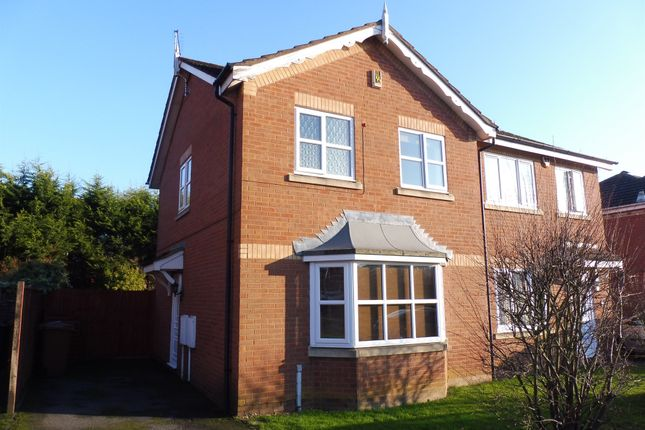 3 bed semi-detached house for sale in Cross Waters Close, Wootton, Northampton
