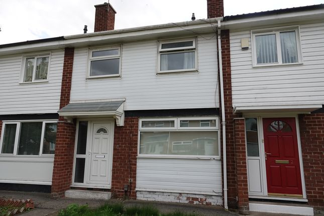 Thumbnail Terraced house to rent in Ryhill Walk, Ormesby, Middlesbrough
