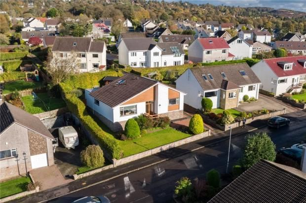 Thumbnail 2 bed detached bungalow for sale in Belmont Road, Kilmacolm, Inverclyde