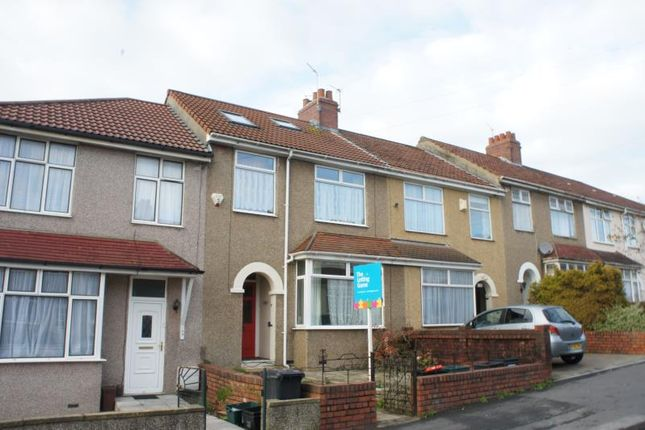 Thumbnail Terraced house to rent in Keys Avenue, Horfield, 0Hg