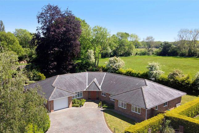 Thumbnail Detached bungalow for sale in Meadowside, Jordans, Beaconsfield, Buckinghamshire