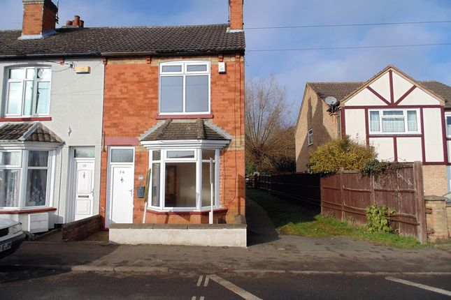 Thumbnail End terrace house for sale in Wellingborough Road, Irthlingborough, Wellingborough