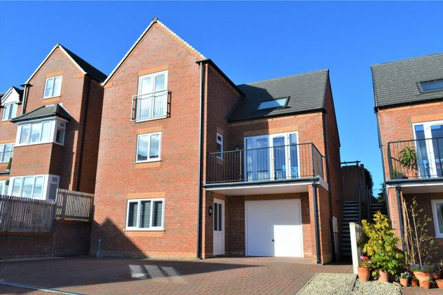 Thumbnail Detached house to rent in Brynmor Heights, Newtown, Powys