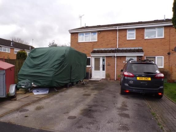 Thumbnail End terrace house for sale in Eldorado Close, Studley, Warwickshire