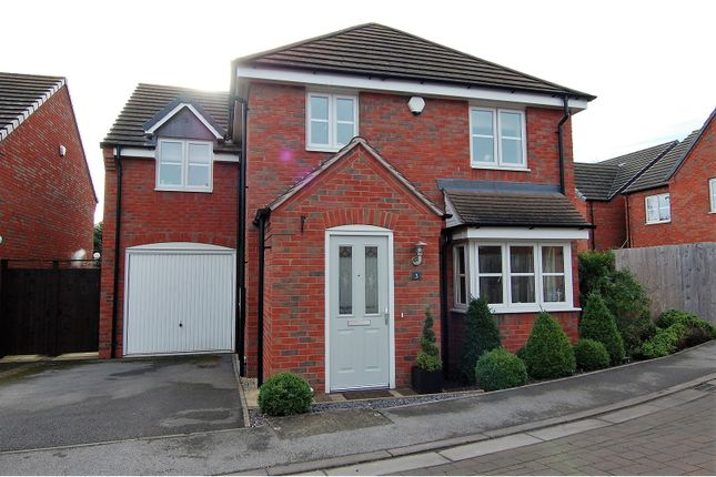 Thumbnail Detached house for sale in Barnes Close, Wilford