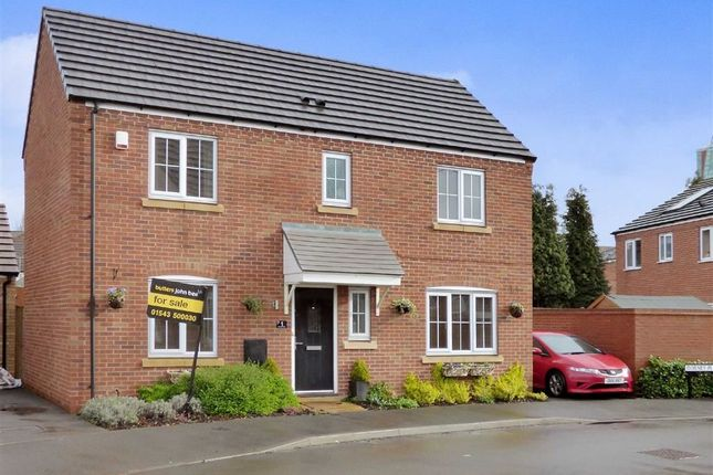 3 bed property for sale in Dorney Place, Cannock, Staffordshire