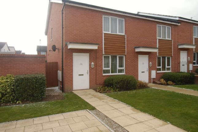 Thumbnail End terrace house to rent in Watkin Road, Leicester