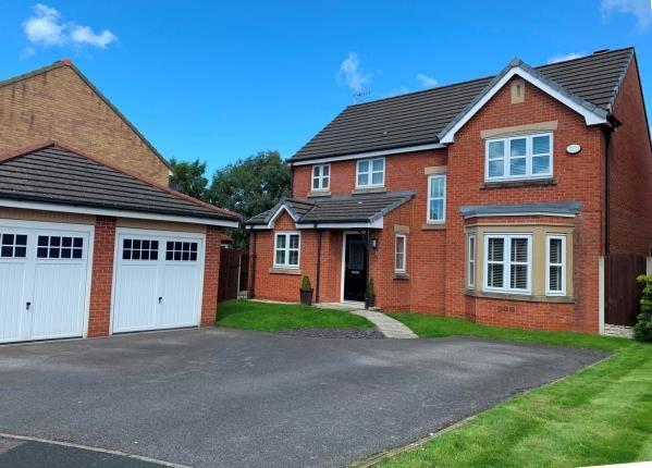 Thumbnail Detached house for sale in Hogarth Drive, Prenton, Merseyside