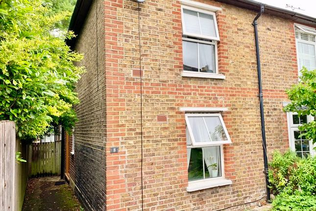 Thumbnail End terrace house to rent in The Green, Claygate, Esher