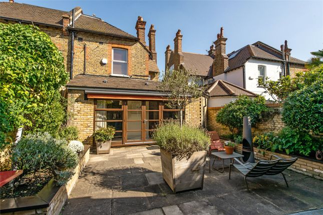 Garden of Courthope Road, Wimbledon, London SW19
