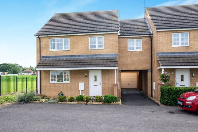 Thumbnail Semi-detached house for sale in Sharman Drive, Corby, Northamptonshire